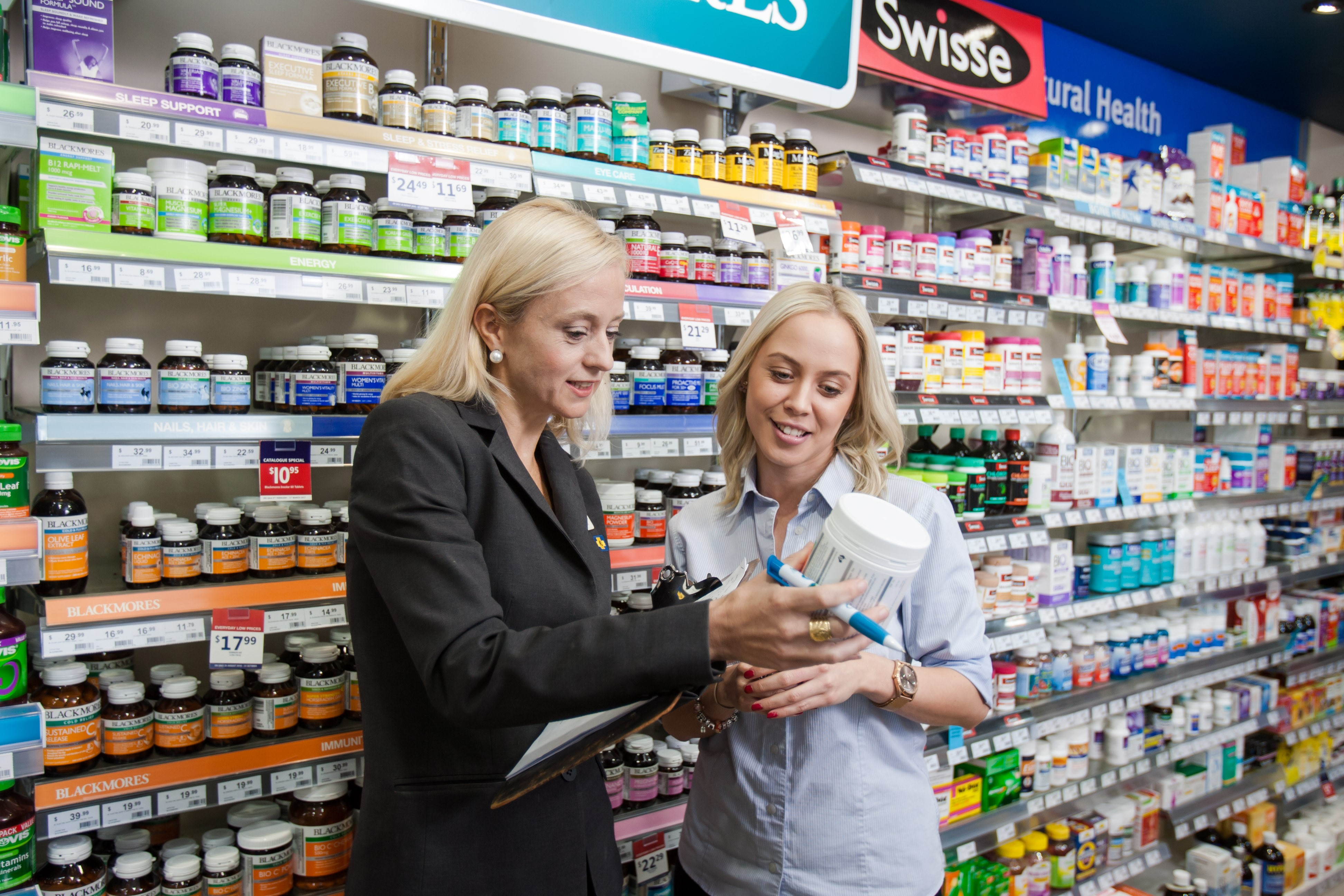 Guild Trainer with pharmacy assistant